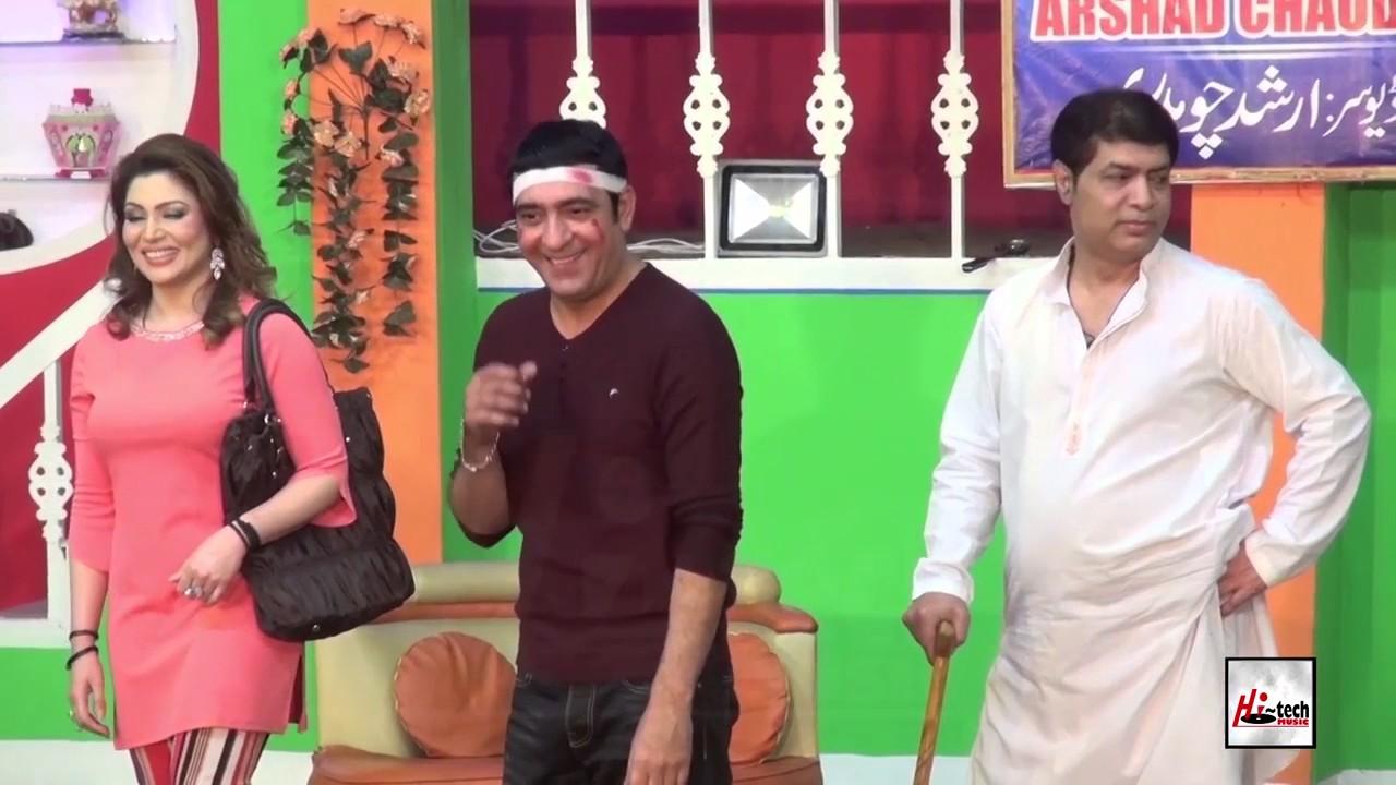 ZAFRI BARA TEZ AE - KHUSHBOO & ASIF IQBAL - PAKISTANI STAGE DRAMA FULL COMEDY CLIP