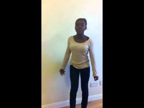 Natalie Okri singing Shark in the Water