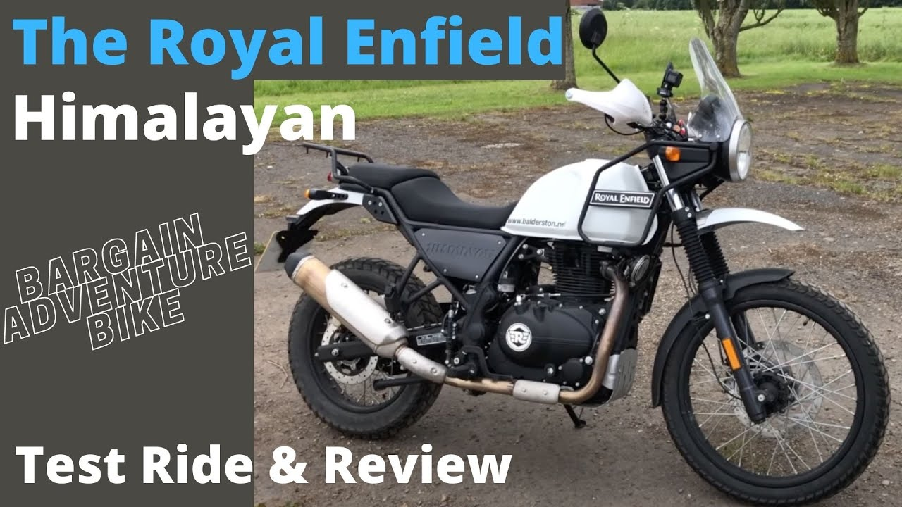 The New 2018 Royal Enfield Himalayan Test Ride And Review Youtube