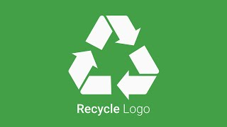 Recycle Vector Logo Tutorial in Inkscape