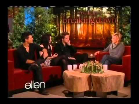Breaking Dawn Cast on Ellen 11 18 11 Part 1 en streaming