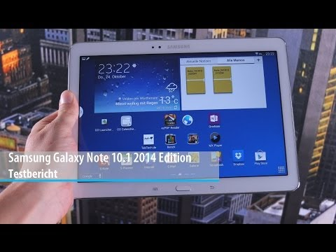 Review: Samsung Galaxy Note 10.1 2014 Edtion im Test (Deutsch) | tabtech.de