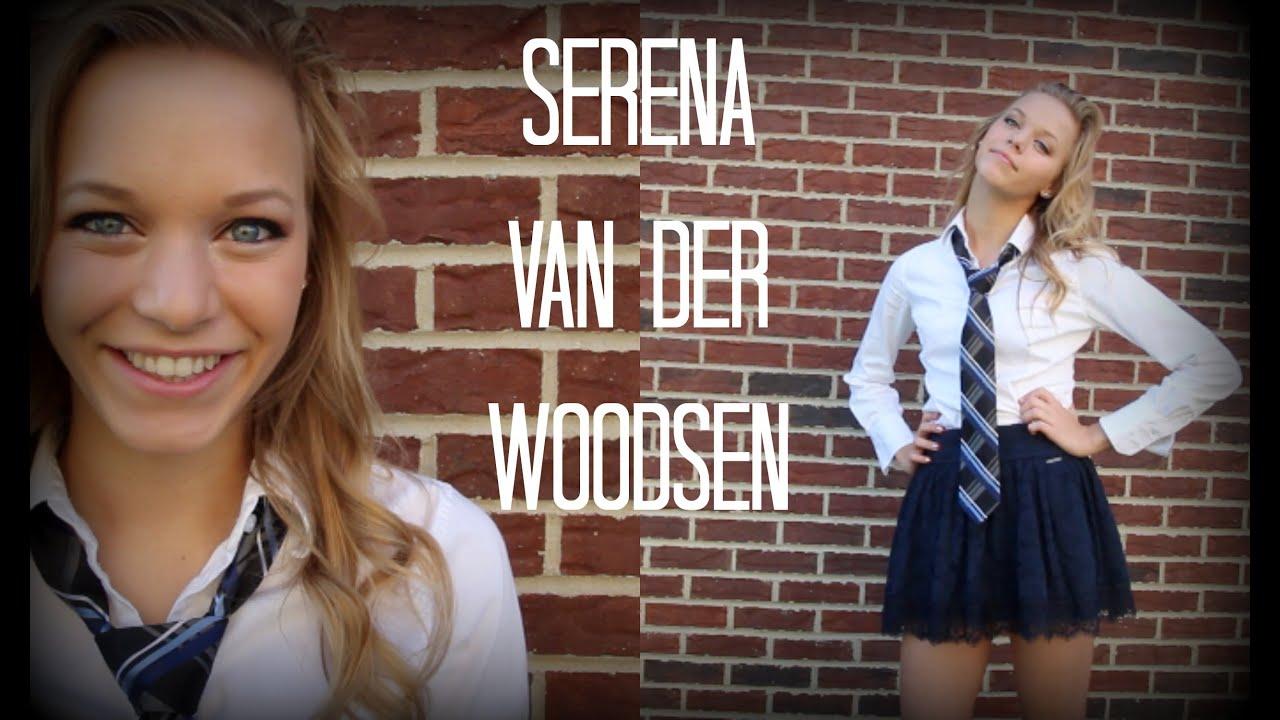 Woodsen And Outfit Hair Halloween Van Makeup Der Serena PnWEwzq6w