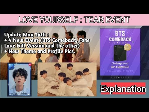 Love Yourself Tear Event Explanation - Fake Love Full Version SUPERSTAR BTS