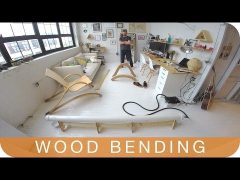 How to Make a Chair | Episode 7: WOOD BENDING