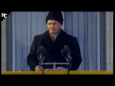 Nicolae Ceaușescu - The fall and death - History channel