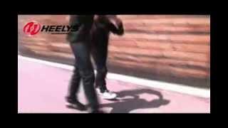 Heelys - как кататься на кроссовках с роликами?