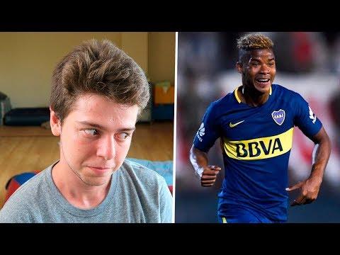 ESPAÑOL REACCIONA A WILMAR BARRIOS | Jugador de Boca Juniors