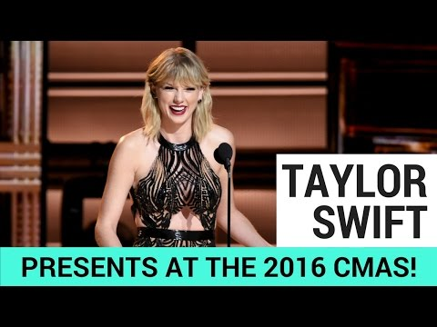 Taylor Swift Surprises Everyone at the 2016 CMAs!
