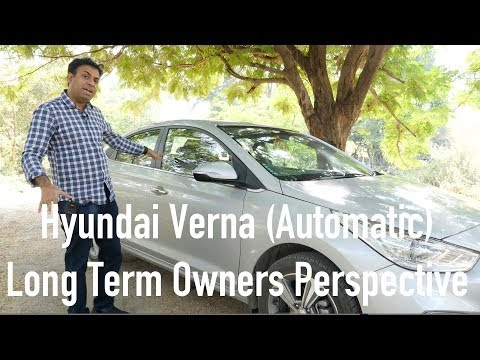 Hyundai Verna  Automatic Long Term Owners Perspective Review