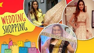 Neha Saxena Does Her Wedding Shopping | Talks About Her Spilt Rumours With Shakti Arora - Exclusive