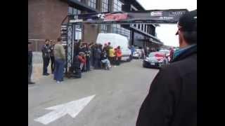 Targa Newfoundland 2014 start