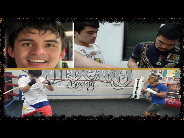 JIMUEL PACQUIAO WANTS TO FOLLOW DAD'S FOOTSTEPS (MANNY PACQUIAO)