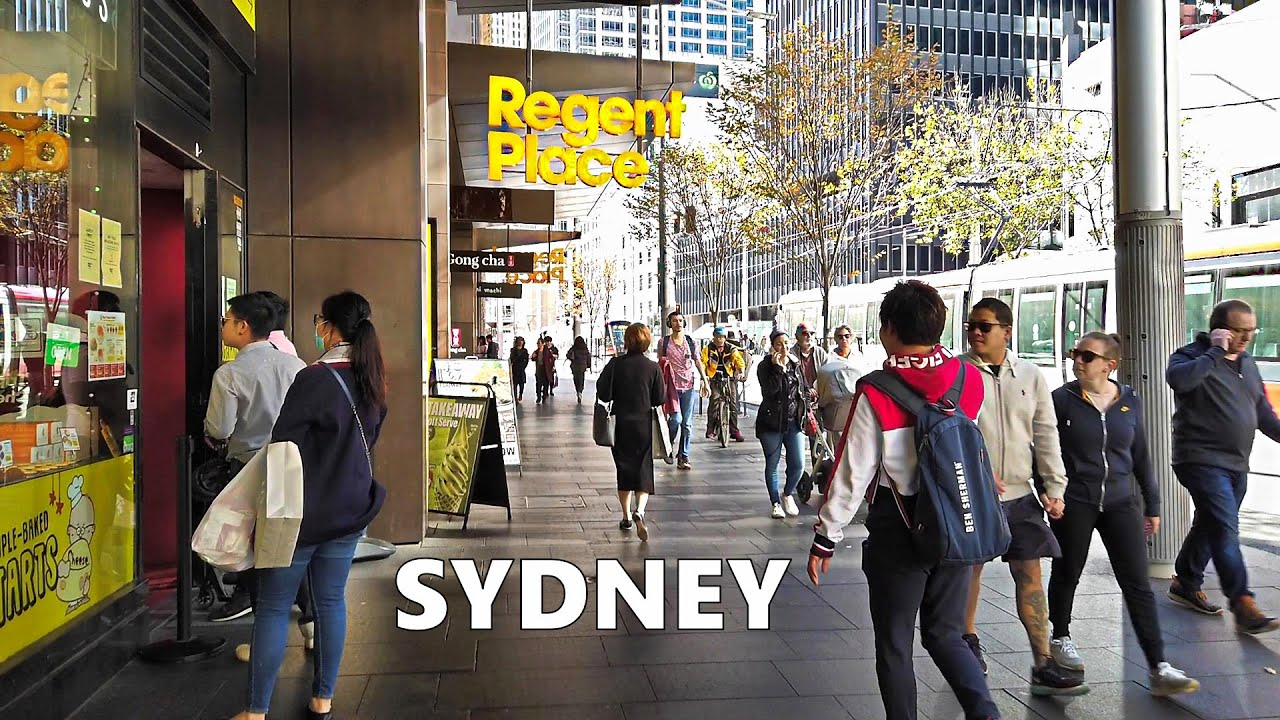 SYDNEY City Walk - From World Square To Regent Place Shopping Centre | Australia