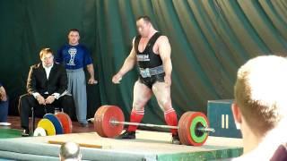 Маланичев - тяга 400 кг.