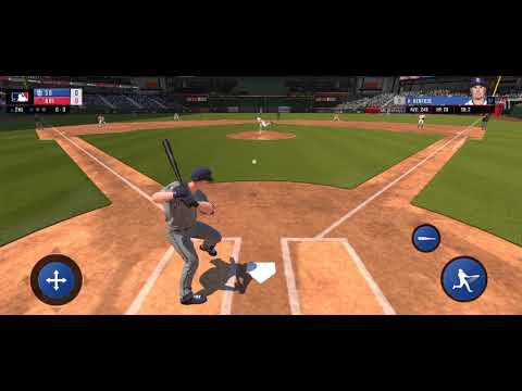RBI Baseball 19 iOS short gameplay San Diego Padres vs Arizona Diamondbacks