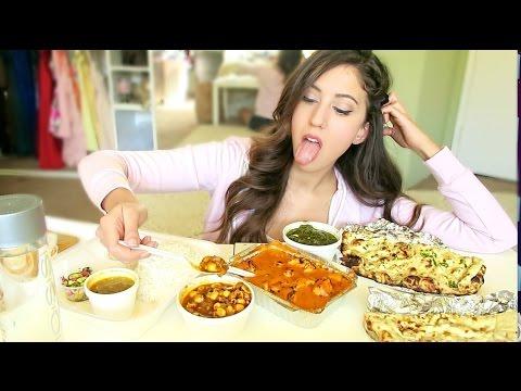 INDIAN FOOD MUKBANG! (Eating Show)