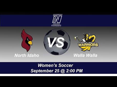 North Idaho College Women's Soccer host Walla Walla Community College