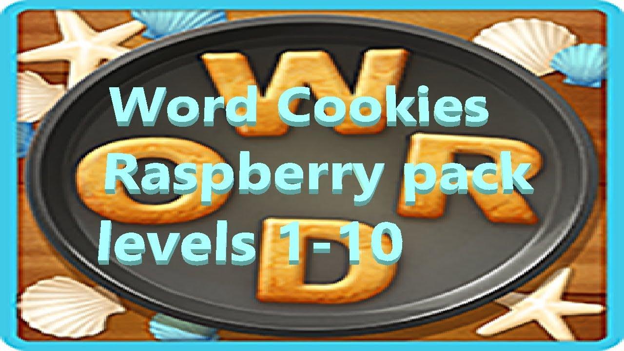 Word Cookies Raspberry Pack Bonus Levels 1 2 3 4 5 6 7 8 9 10