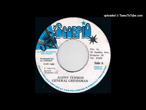 General Grindsman - Agony Tension [Black Scorpion 7'', 1989]