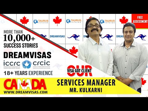 Ameya, Hotel Manager, Our Canadian PR visa got client with Manoj Palwe.