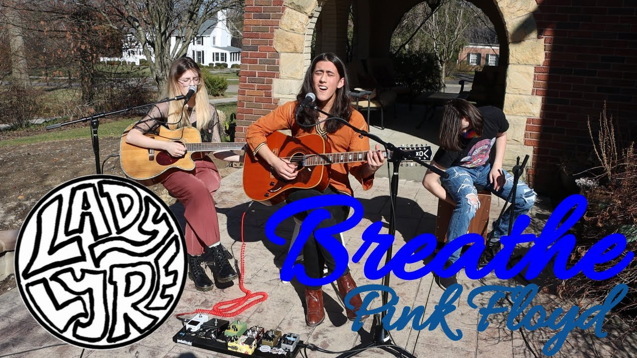 """Lady Lyre - """"Breathe (In The Air)"""" (Pink Floyd Acoustic Cover)"""