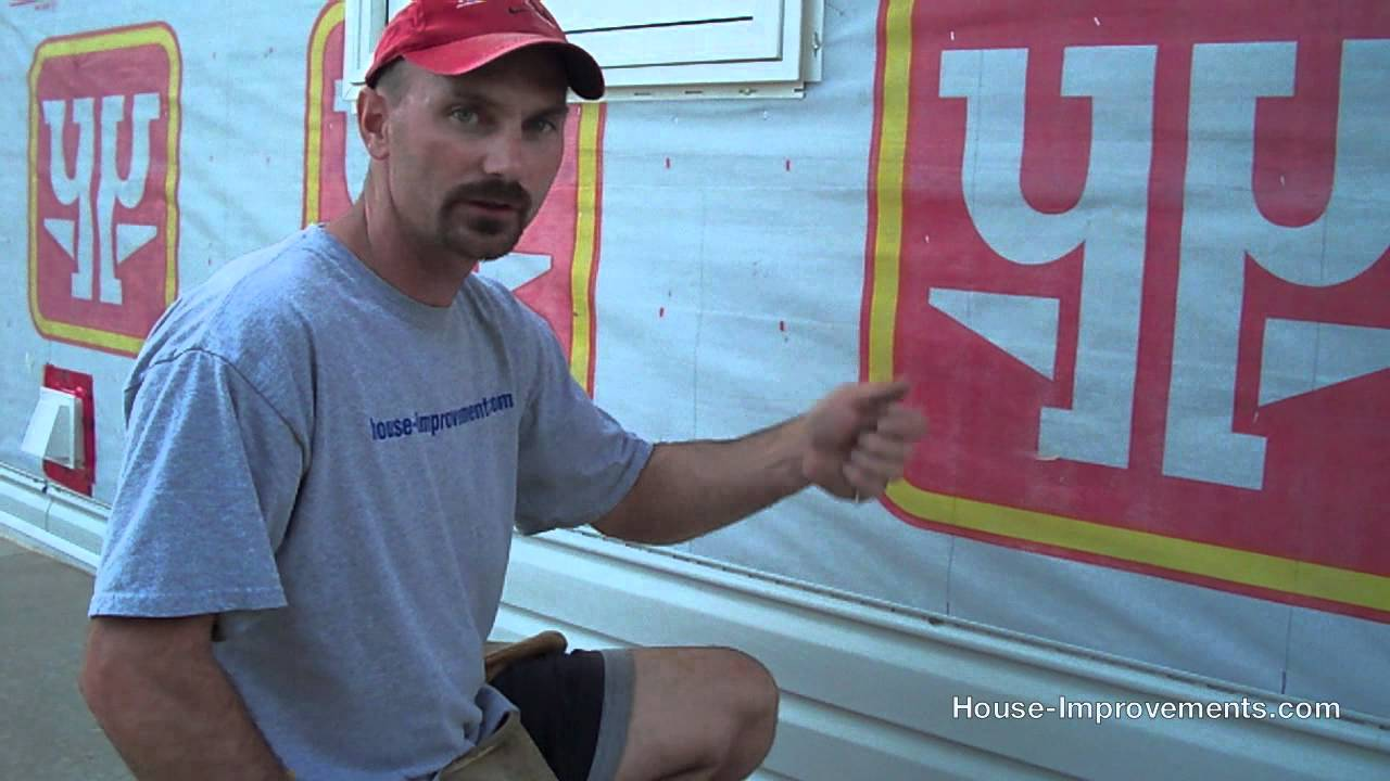How To Install Vinyl Siding On Your House Youtube