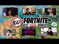 FUNNIEST 100T FORTNITE MOMENTS (Ft. NICKMERCS, Nadeshot, Pokimane, and more)