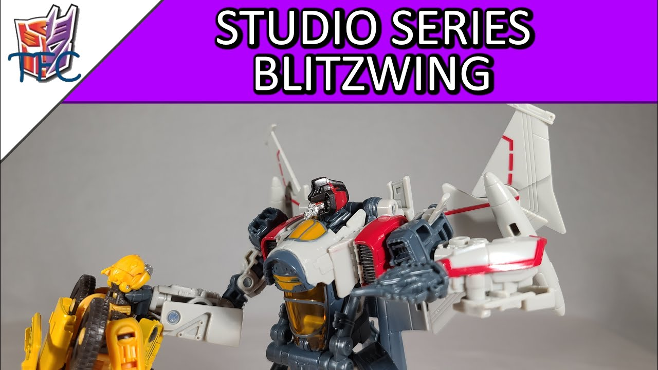 TF Collector Studio Series Blitzwing Review!