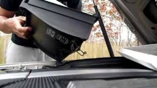 how to change a cabin air filter in a c230 sport
