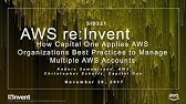 AWS re:Invent 2017: Architecting Security and Governance