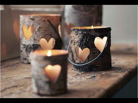 18 Wonderful DIY Candle Holders Ideas