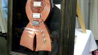 The Breast Cancer Charity Guitar - Pink Ribbon