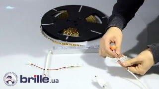 Видео-инструкция Brille светодиодные ленты резка и подключение(Как правильно обрезать светодиодную ленту и подключить её. RGB светодиодная лента подключение через контро..., 2015-12-23T10:54:25.000Z)