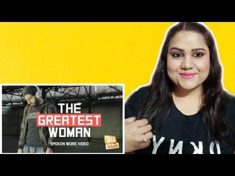 THE GREATEST WOMAN II SPOKEN WORD II Indian Reaction II SJ
