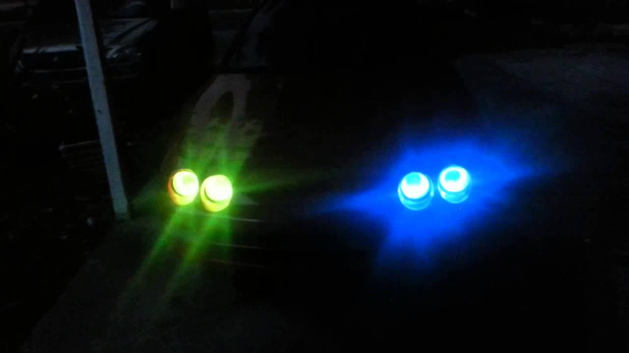 Acura Integra Custom Halo Headlights YouTube - 1991 acura integra headlights
