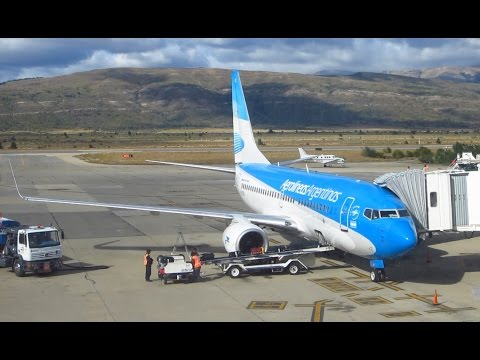 Aerolineas Argentinas Boeing 737-700 Bariloche to Buenos Aires + San Telmo