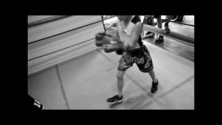 SEVEN YEAR OLD FRANKIE BRETT SPARRING@THE 15TH ROUND BOXING ACADEMY
