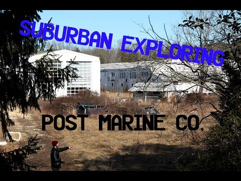 Abandoned Factory | Post Marine Co. Yachts