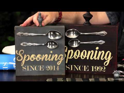 Inspired by Pinterest: Metal Stamping on Spoons