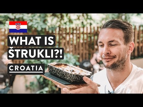 TASTING CROATIAN FOOD, BEER & COFFEE | Strukli in Zagreb | Croatia Travel Vlog