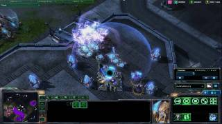 Starcraft II -- Wings of Liberty Protoss Units