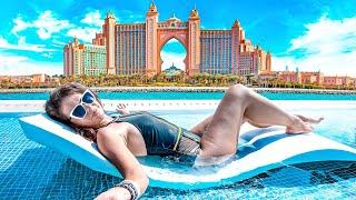 Самыи большои в мире аквапарк Отель Atlantis The Palm в Дубае