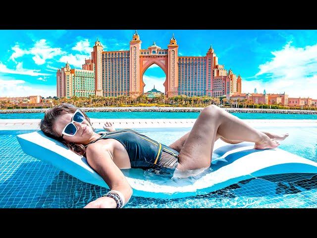 Самый большой в мире аквапарк! Отель Atlantis The Palm в Дубае