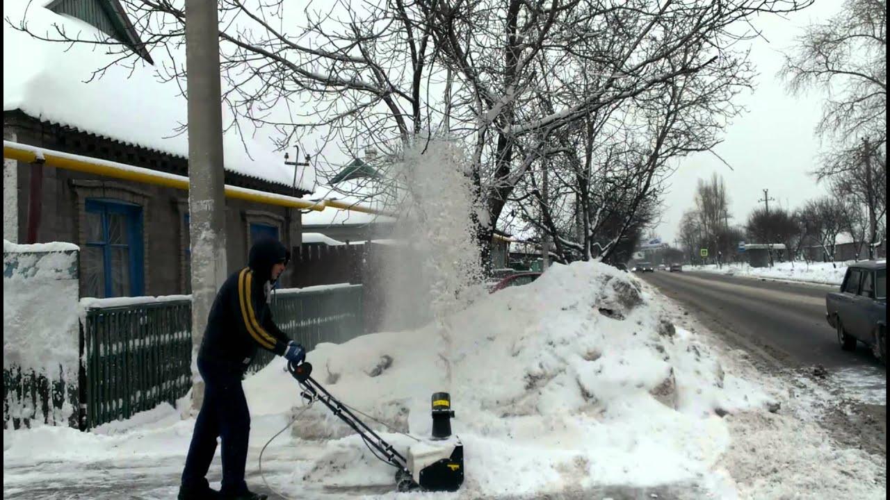 Снегоуборщик электрический Alpina AS 45 E
