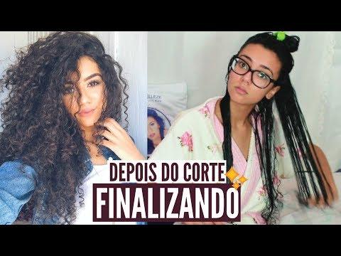 PRIMEIRA FINALIZAÇÃO DEPOIS DO CORTE ♥ Natalia Souza