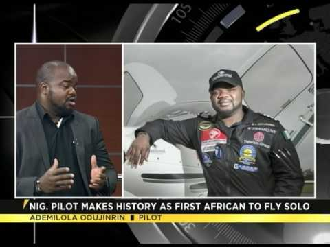Ademilola Odujinrin, first African pilot to fly the world solo
