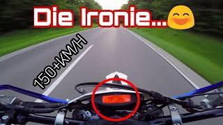 Motovlog | Die Ironie... | 150+ KM/H | KTM EXC 125