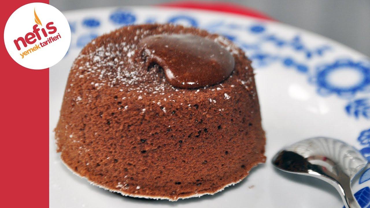 Çikolatali Mikrodalga Kek Tarifi Videosu