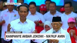 Spesial Event: Kampanye Akbar Jokowi-Ma'ruf Amin